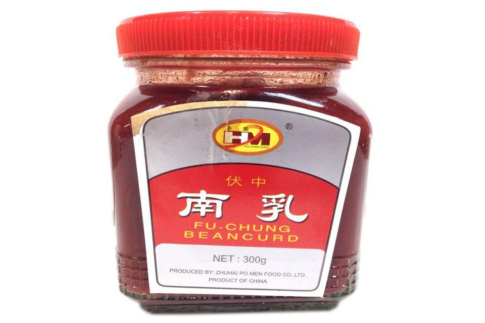 Red bean curd