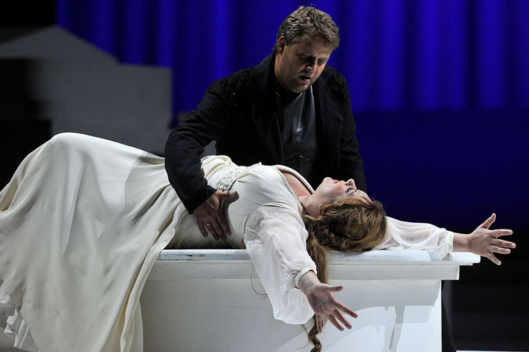 UK - Mariinsky Opera's production of Hector Berlioz's Les Troyens
