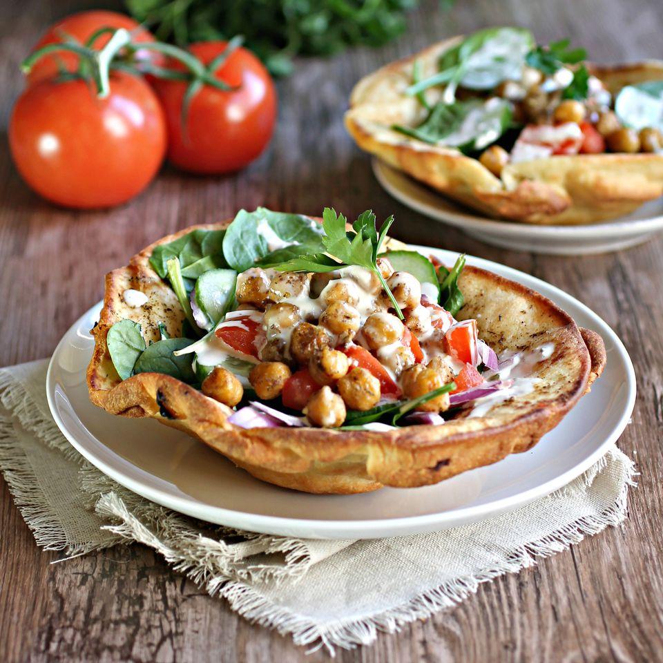 Pita Bowl Salad