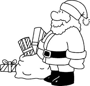 papajans christmas coloring pages for kids - Santa Coloring Pages Printable Free