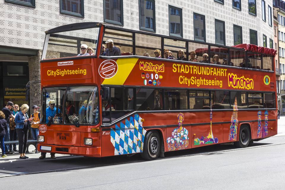 Double Decker Bus,Munich,Bavaria,Germany