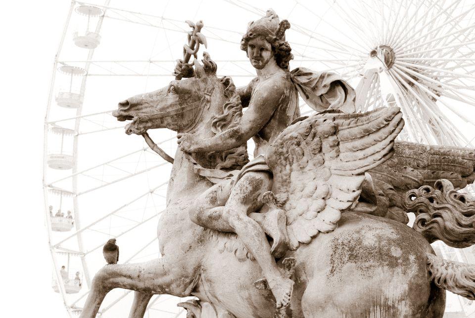 Paris: Mercury on Pegasus