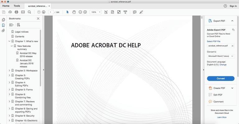 Adobe Acrobat DC PDF