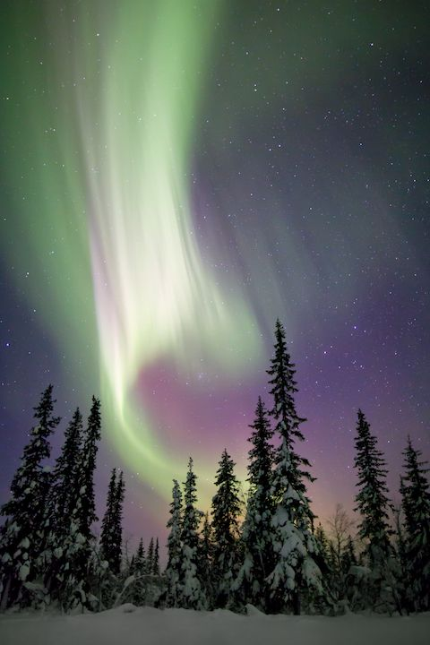 See the northern lights in November in Europe
