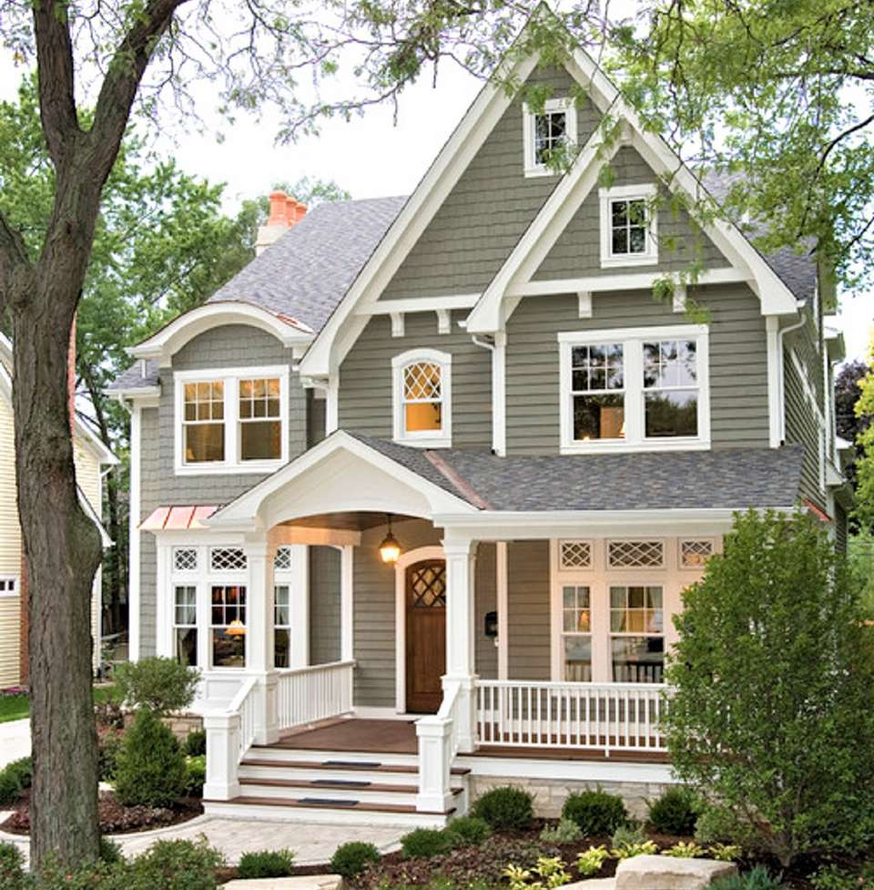 10 inspiring exterior house paint color ideas for Exterior home colors