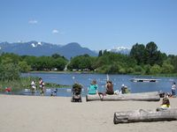 Beach at Trout Lake Vancouver