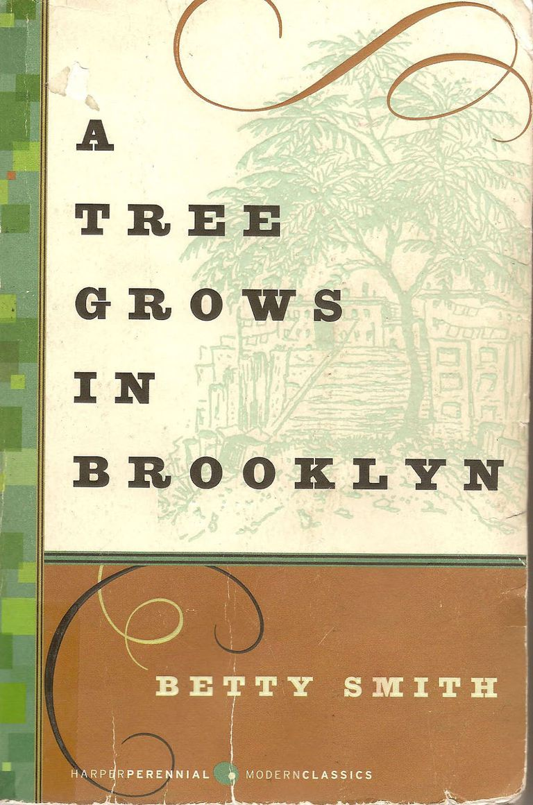 The cover of 'A Tree Grows in Brooklyn'