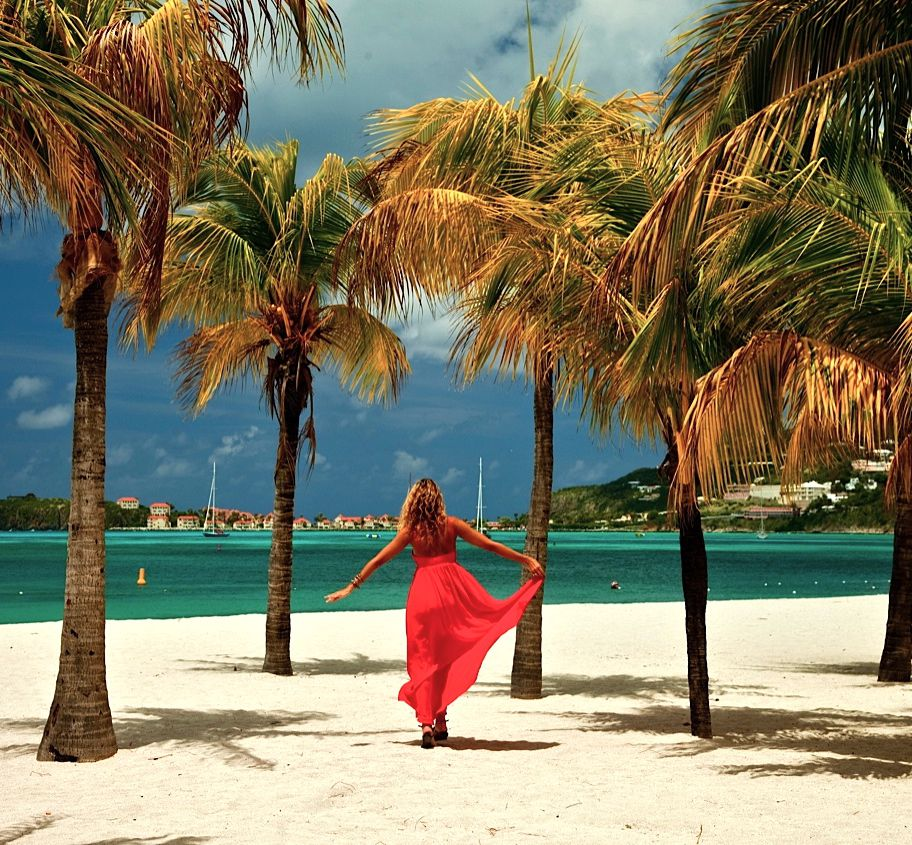 Beach at Sonesta Great Bay Beach Resort on St Maarten.jpg
