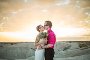 Wedding in Badlands National Park