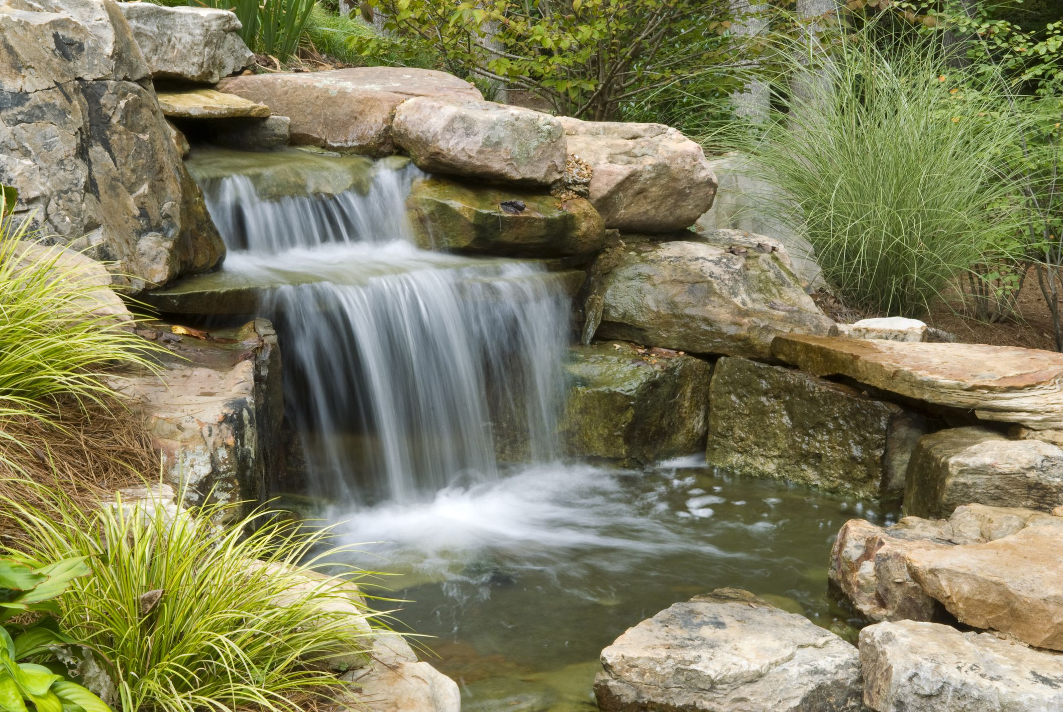 How to Build Beautiful (and Cheap!) Waterfalls in Your Backyard