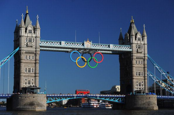 2012 Olympic Rings London