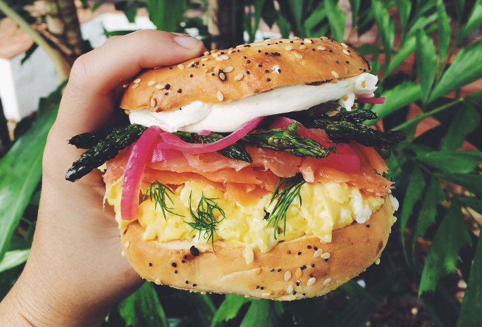 The Best Ever Smoked Salmon Bagel Sandwich Recipe