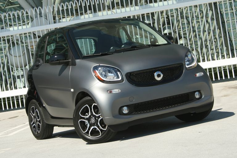 2016 Smart ForTwo front view