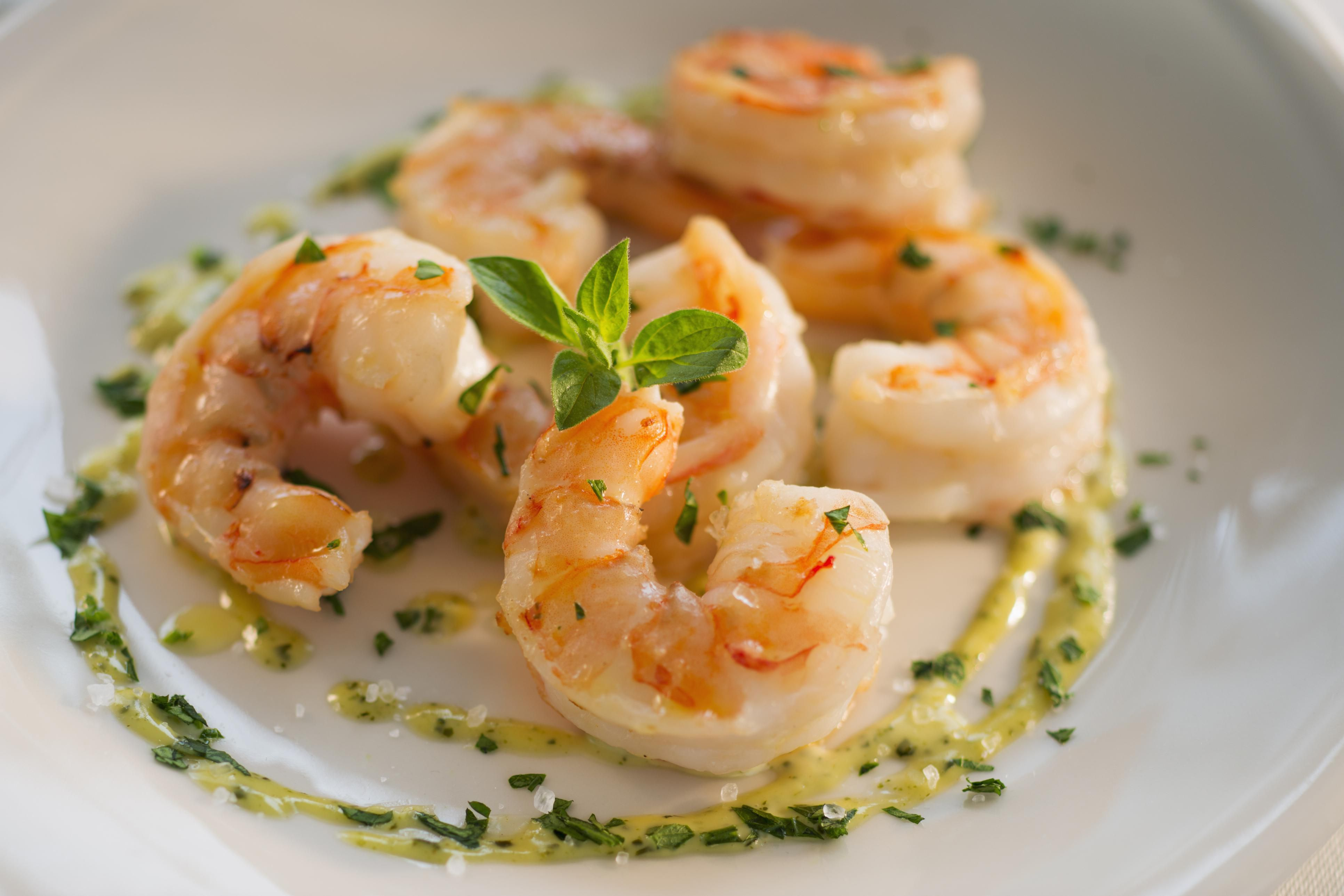 Cognac Shrimp With Beurre Blanc Sauce Recipe