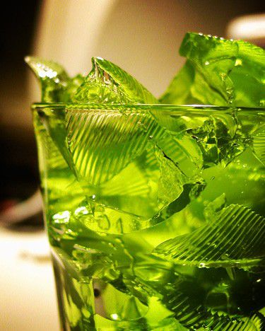 Gelatin is an example of a gel.