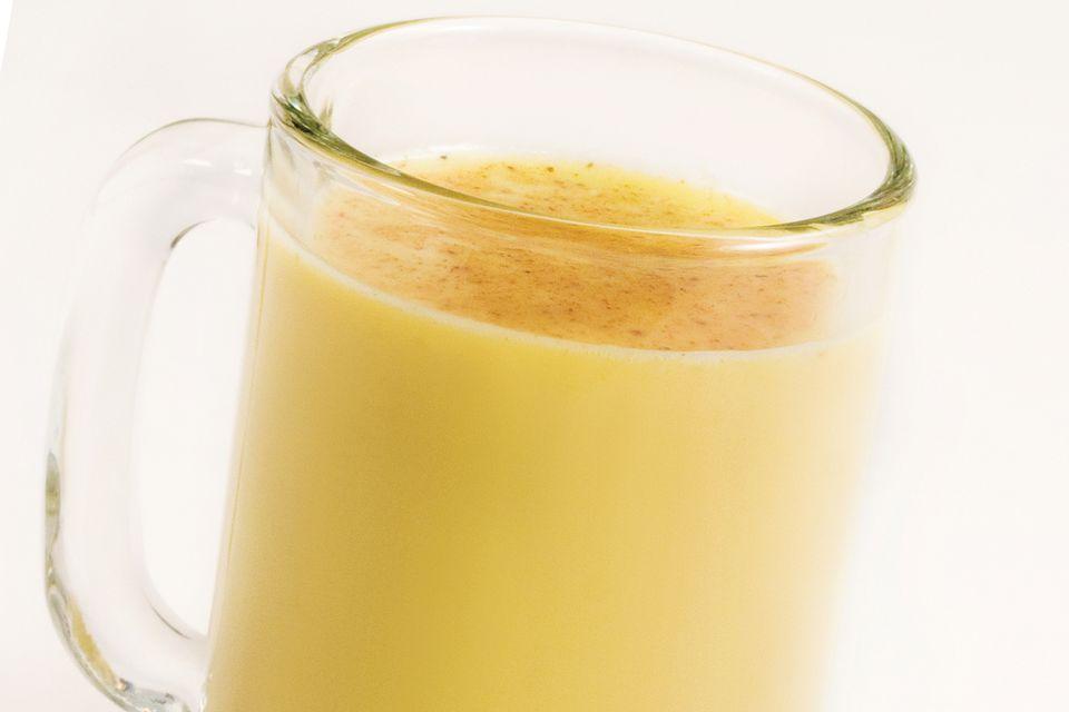 The Snow Honey - Warm Cognac Milk Cocktail