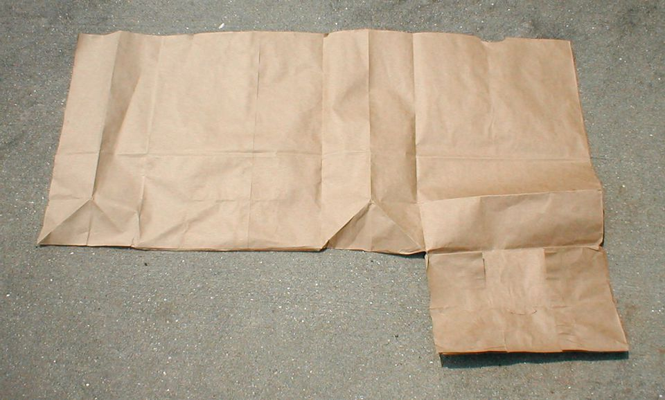How To Make A Book Bag : How to make a book cover with paper bag