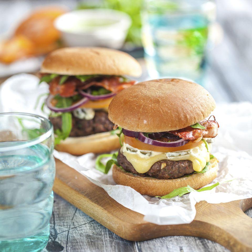 Homemade Hamburger Buns Sandwich Buns