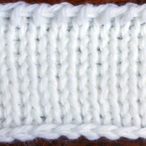 Knitting Stitches A To Z : Tunisian Knit Stitch Picture Tutorial