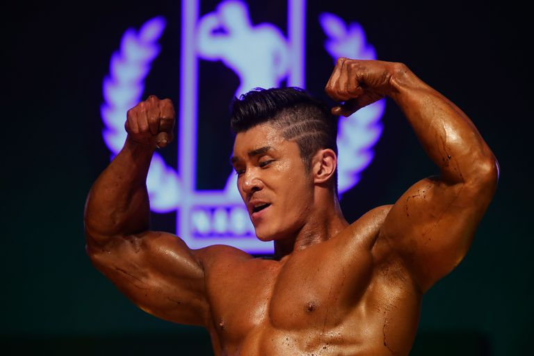 Body Building NABBA/WFF Asia Final