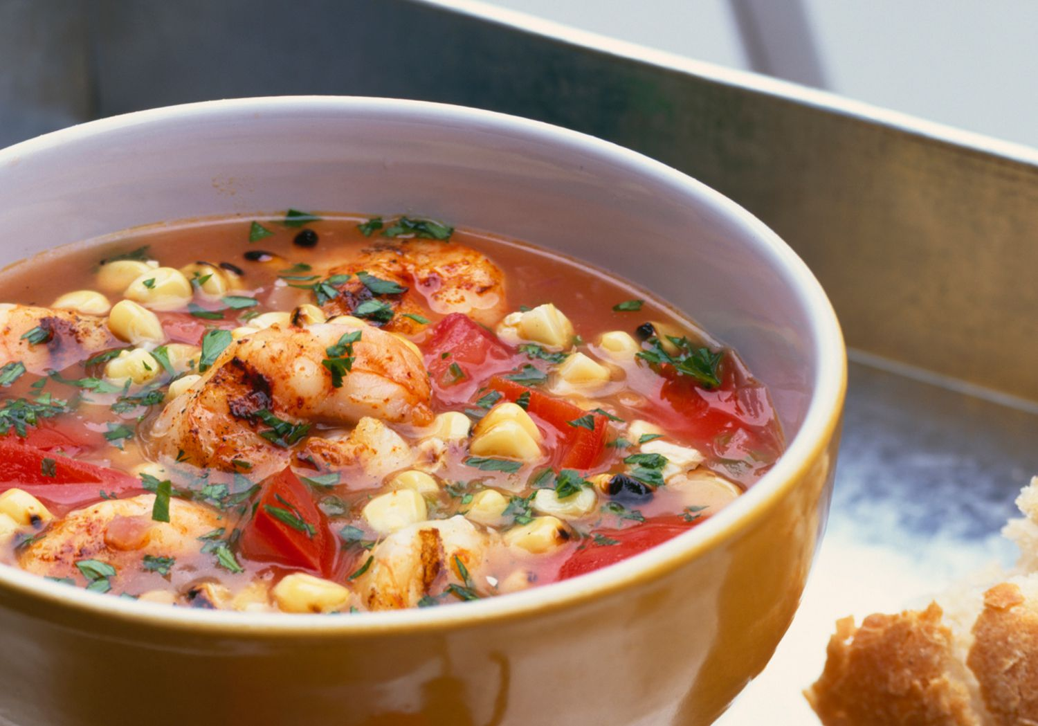 Creole corn and shrimp soup recipe for Fish and shrimp soup