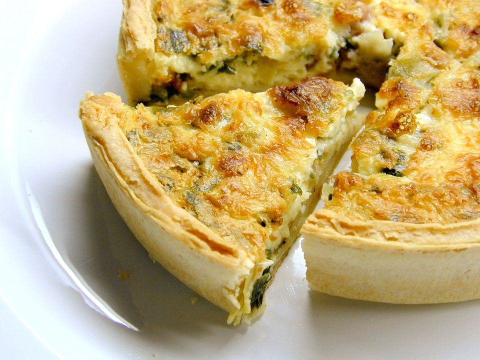 Crab quiche recipe with cheese quiche forumfinder Choice Image