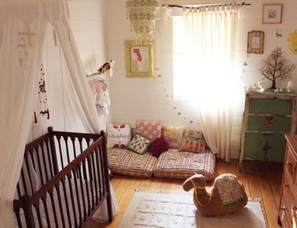 Beautiful Nurseries with a Modern Boho Vibe