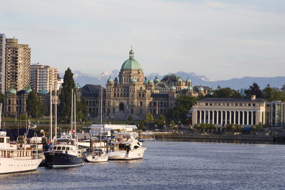 Inner Harbour in Victoria, BC