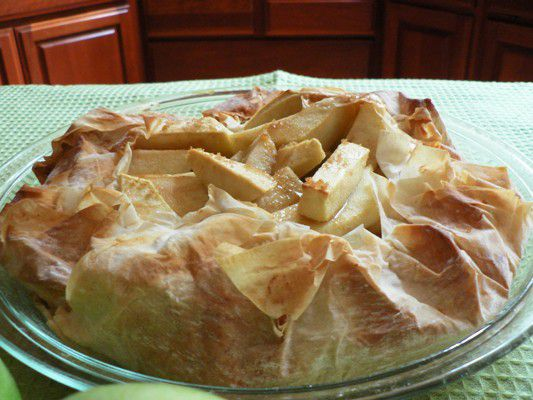 Low Fat Apple Phyllo Pie Recipe