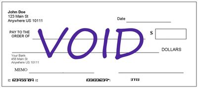 How to fill out a deposit slip how to void your own check ccuart Choice Image