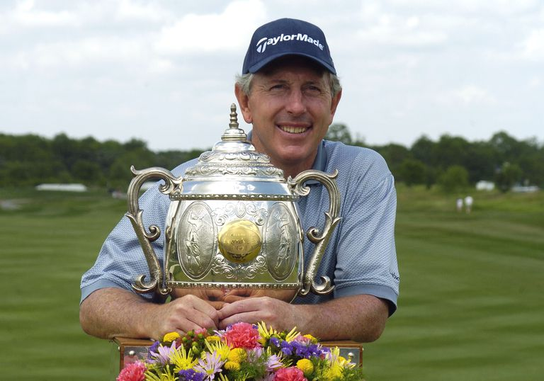 Hale Irwin collected a lot of trophies on the Champions Tour. He's the all-time leader in wins on the senior circuit.