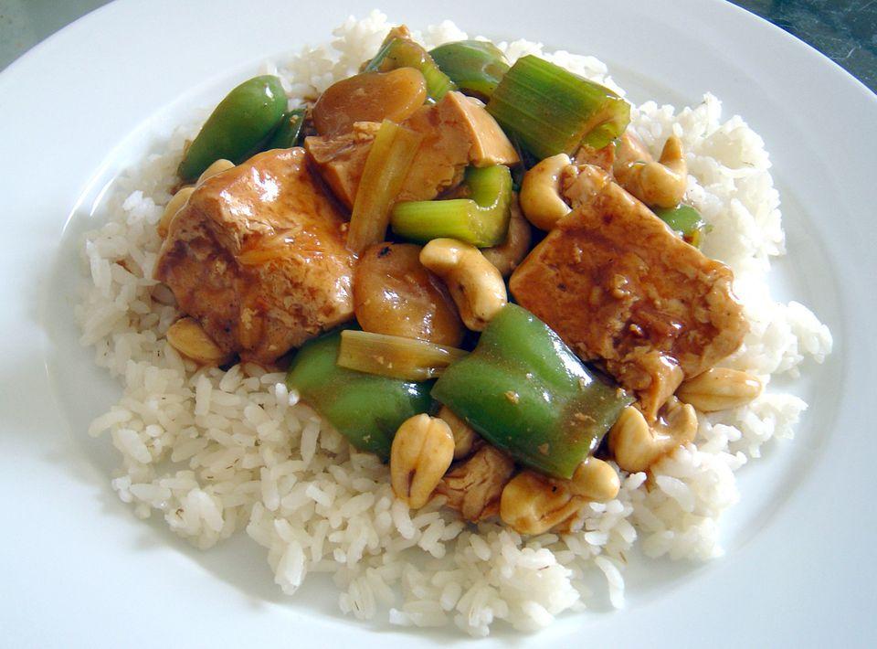 Tofu cashew