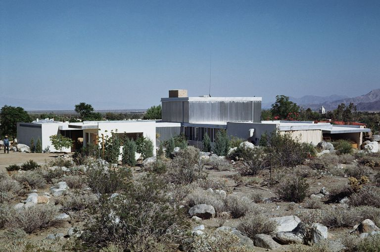 Kaufmann House در پالم اسپرینگز، کالیفرنیا، مدرنیزم کویر. 1946. ریچارد نوترا، معمار.