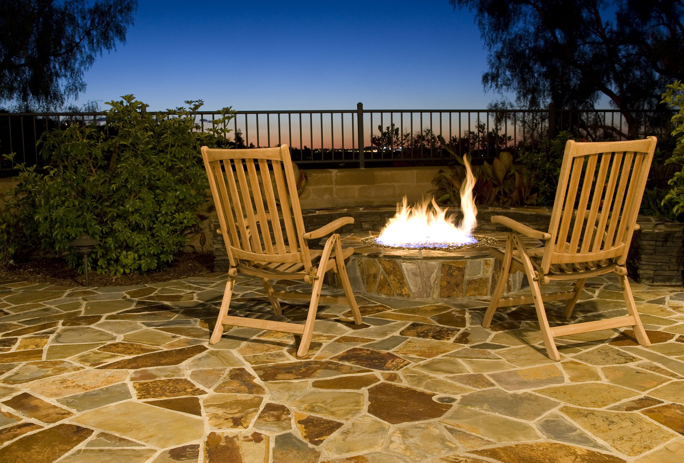 patio paving with stones get natural pictures news ready tips summer back garden uk preparation to for top flower your landscaped yard