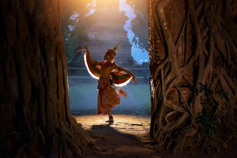 niña danzando