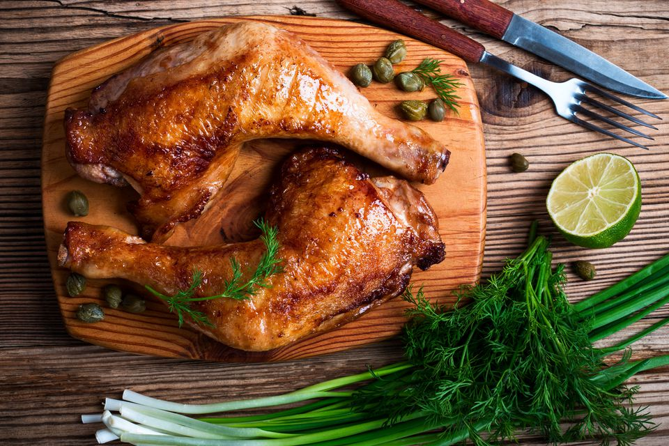 Glazed Chicken on Cedar Plank
