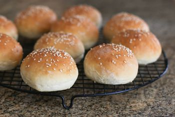 Easy Prep Bread Machine Hamburger Or Hot Dog Buns