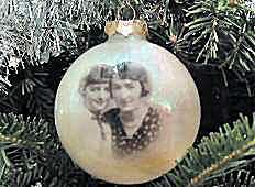 Holiday Photo Ornament - Magic Bubble