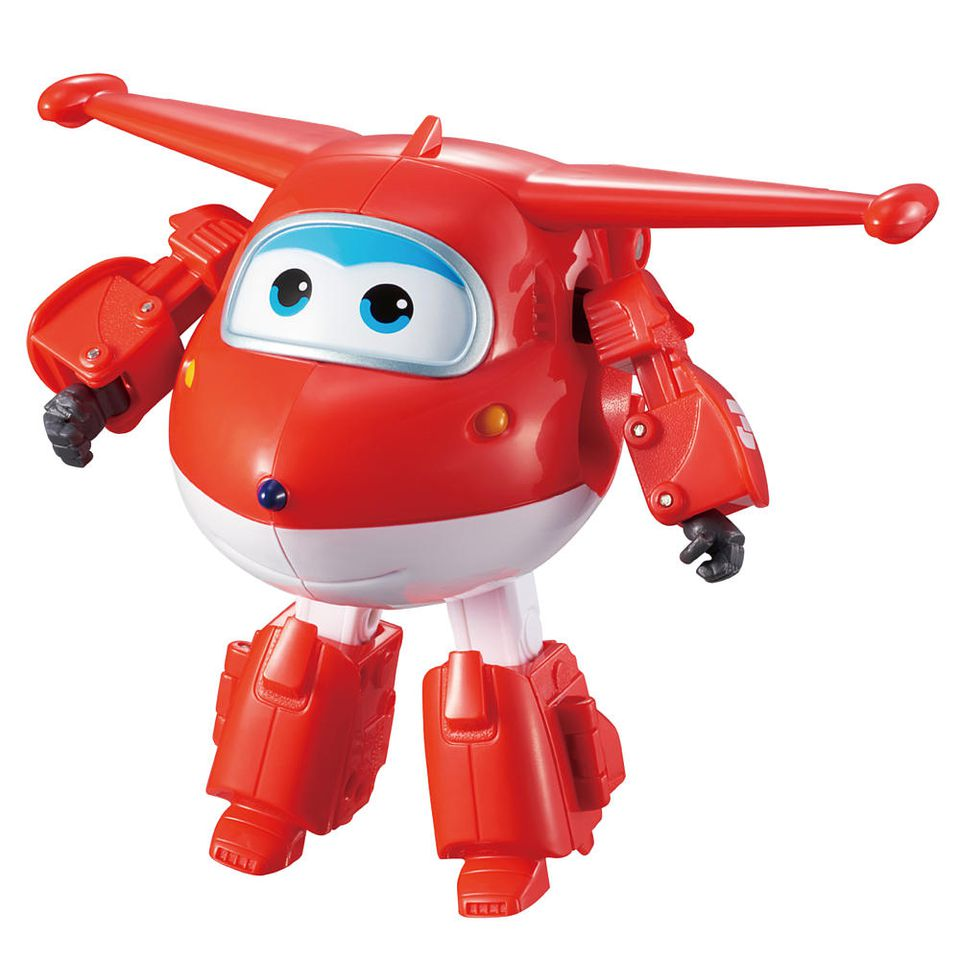 Super Wings Transforming Jett Airplane