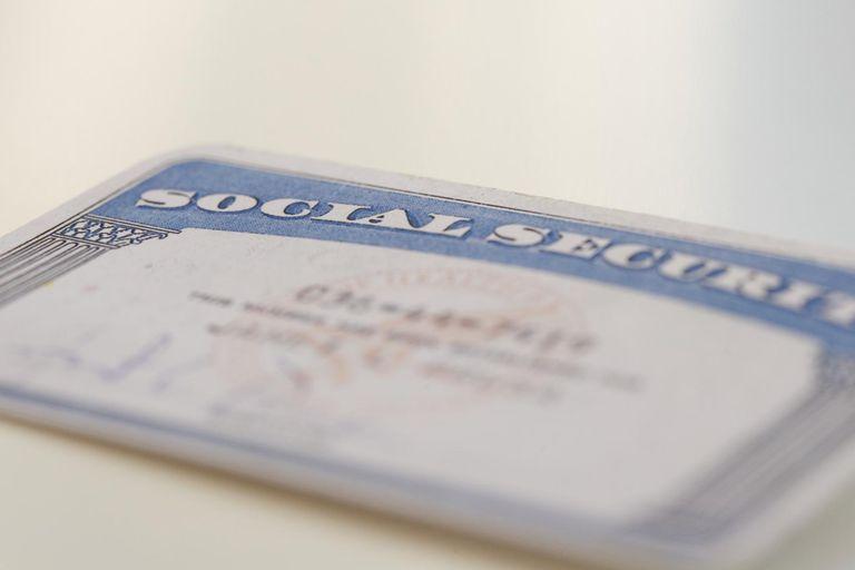 Social Security card.