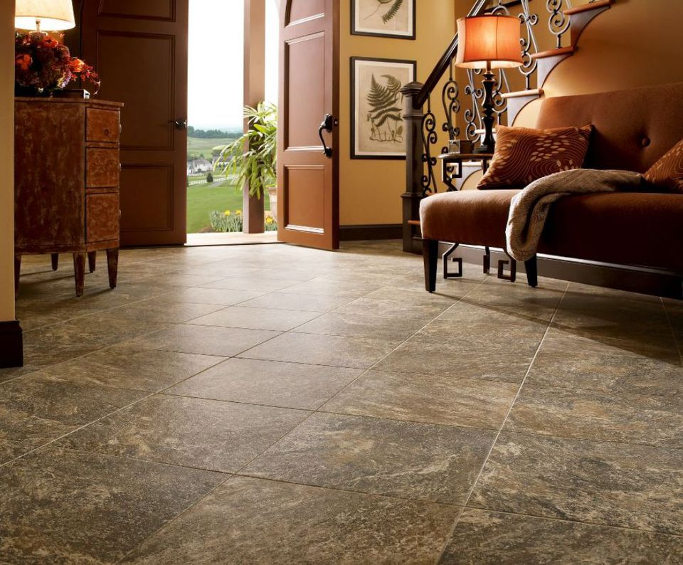 Does This Luxury Vinyl Floor Look Like Quartz to You?