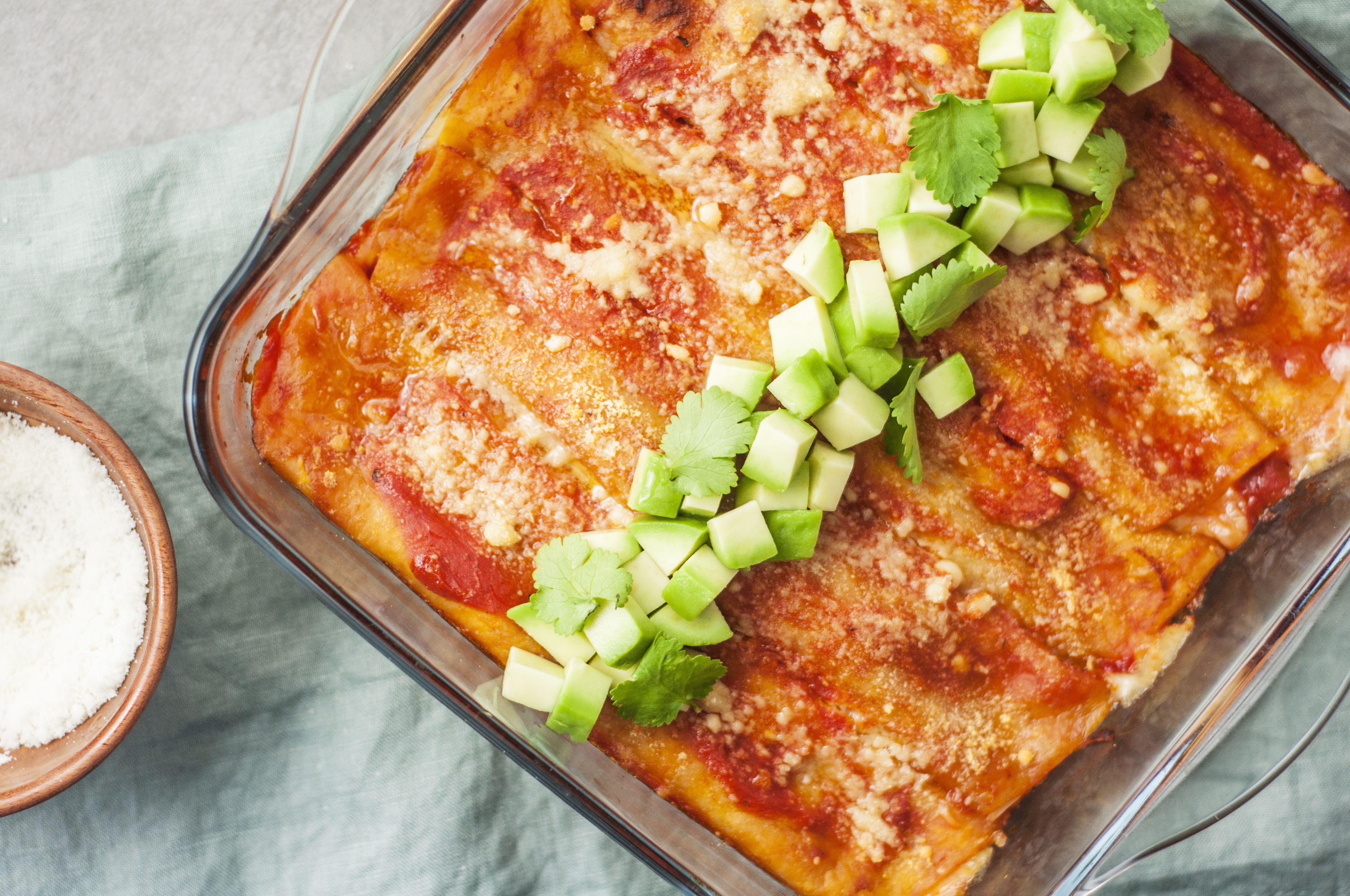 30 Minute Mexican Enchiladas Recipe