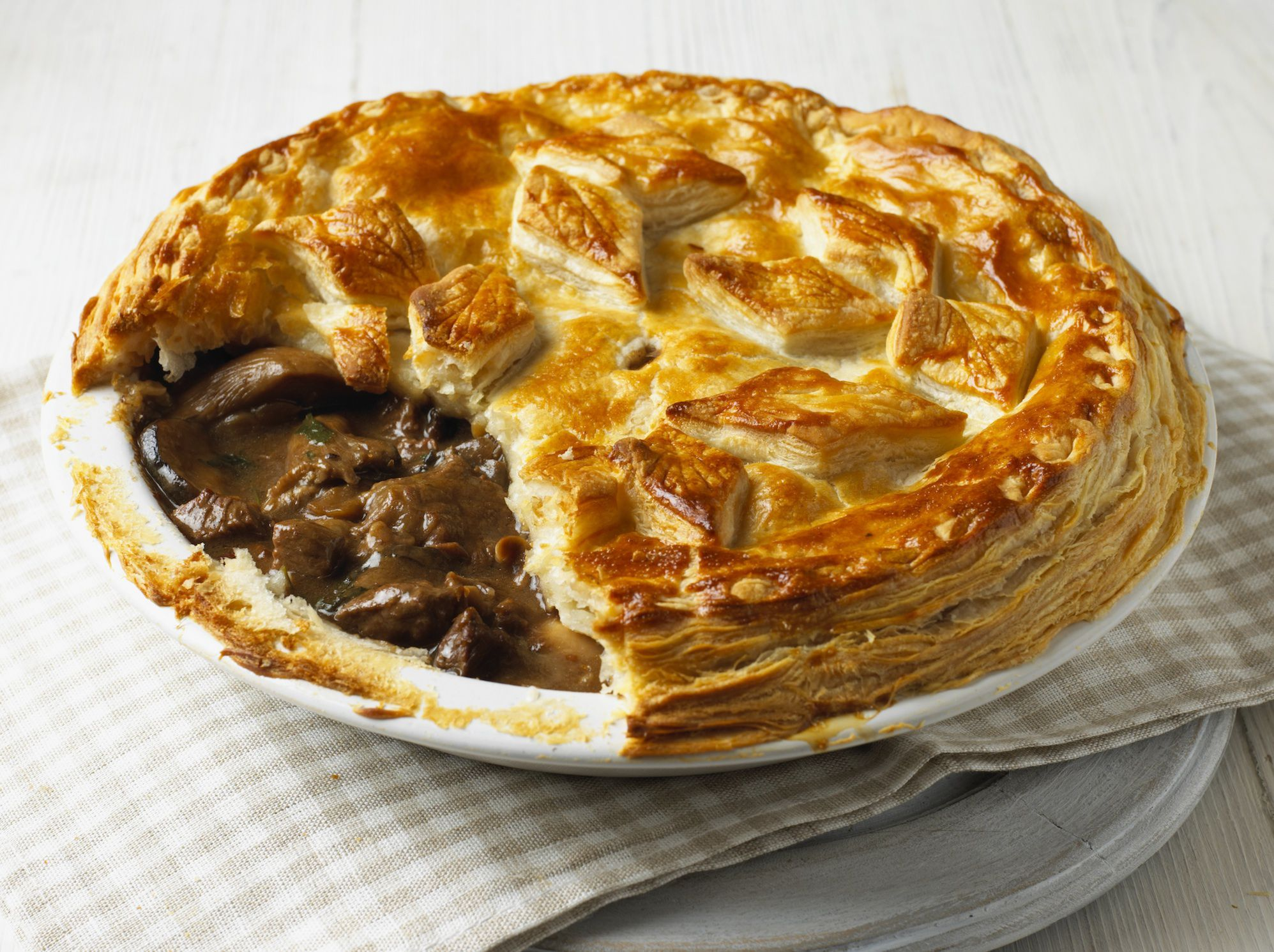 The History Of The Famous Denby Dale Pie