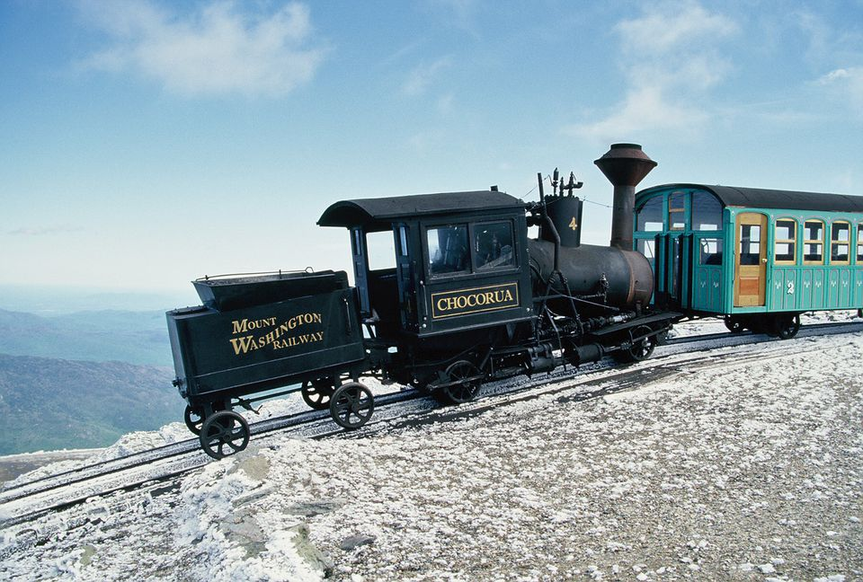 Mount Washington Cog Railway Picture
