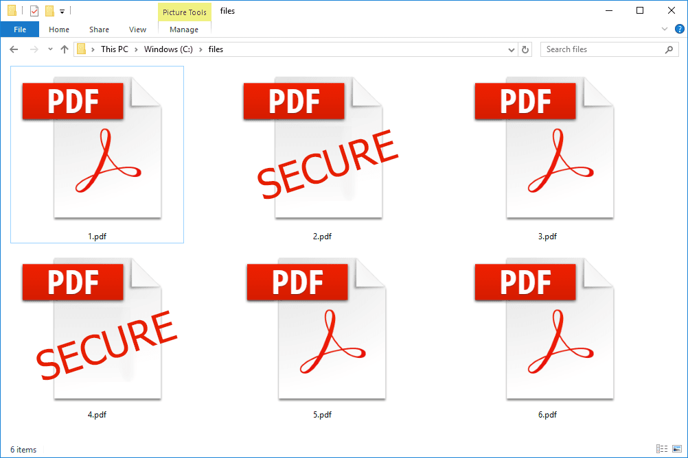 How to password protect a PDF file for free using PDF Creator