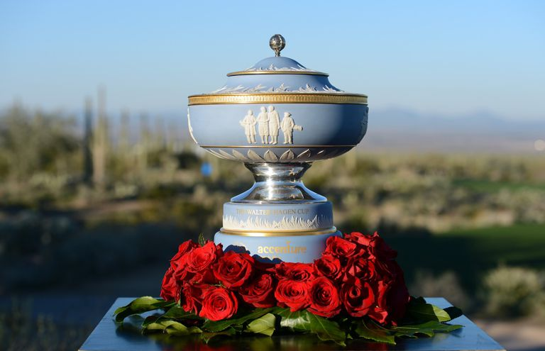 WGC Accenture Match Play Championship trophy