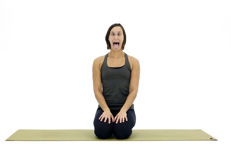 How to Practice Lion's Breath Yoga (Simhasana Pranayama)