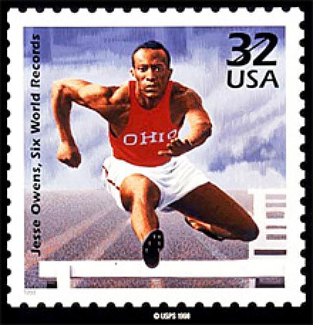 Jesse owens olympics gold