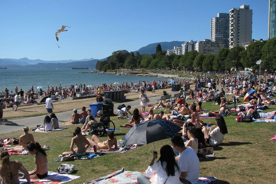 Vancouver's English Bay