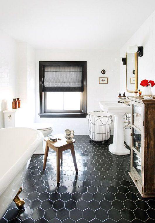Bathroom Inspiration Trend Black And White